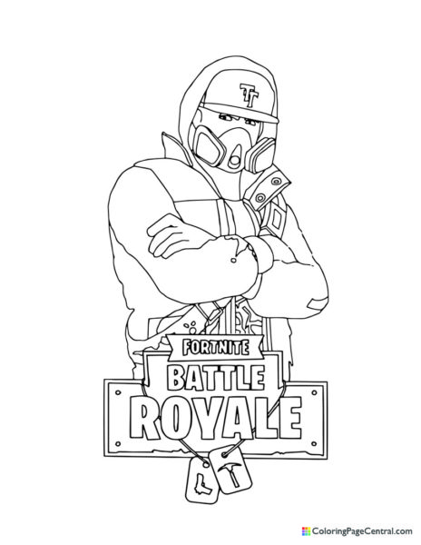 Fortnite – Abstrakt Coloring Page
