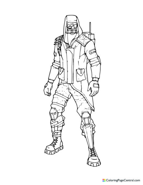 Fortnite – Archetype Coloring Page