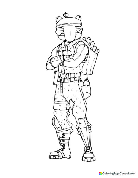 Fortnite – Beef Boss 02 Coloring Page