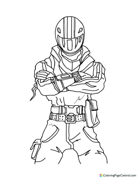 Fortnite – Burnout Coloring Page