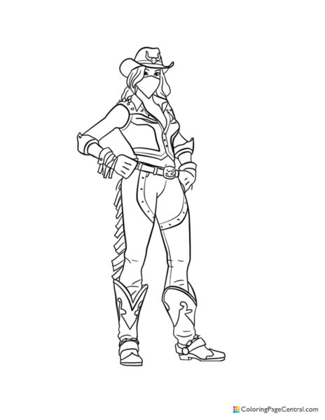 Fortnite - Calamity Coloring Page