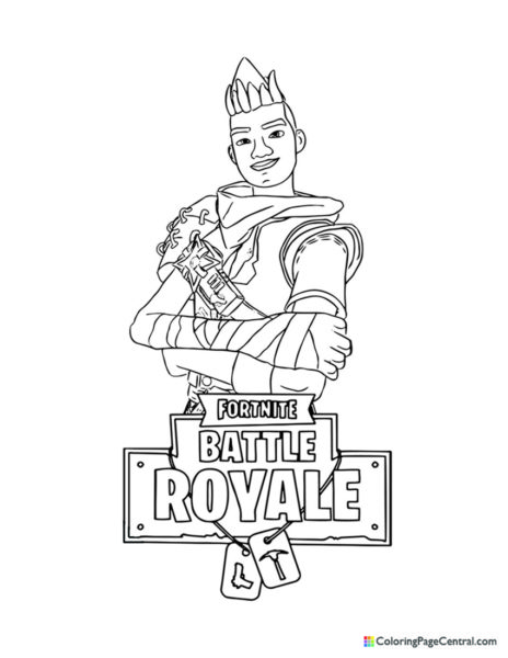 Fortnite – Dragon Scorch Coloring Page