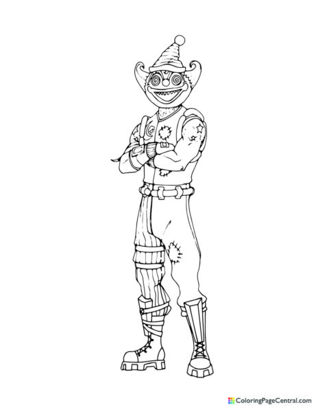Fortnite - Nite Nite Coloring Page