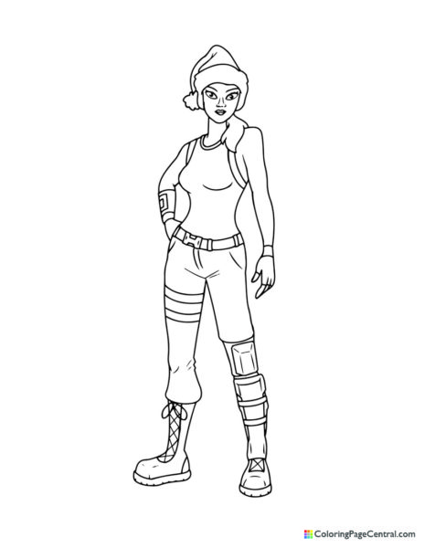 Fortnite – Nog Ops Coloring Page