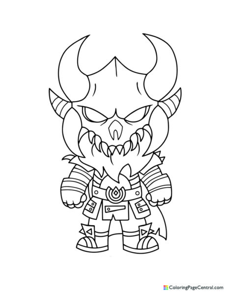Fortnite – Ragnarok Chibi Coloring Page