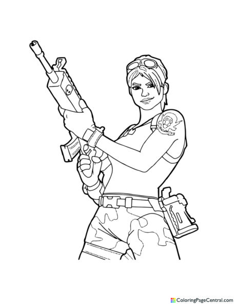 Fortnite – Ramirez 01 Coloring Page