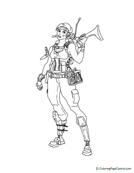 Fortnite – Ramirez 02 Coloring Page
