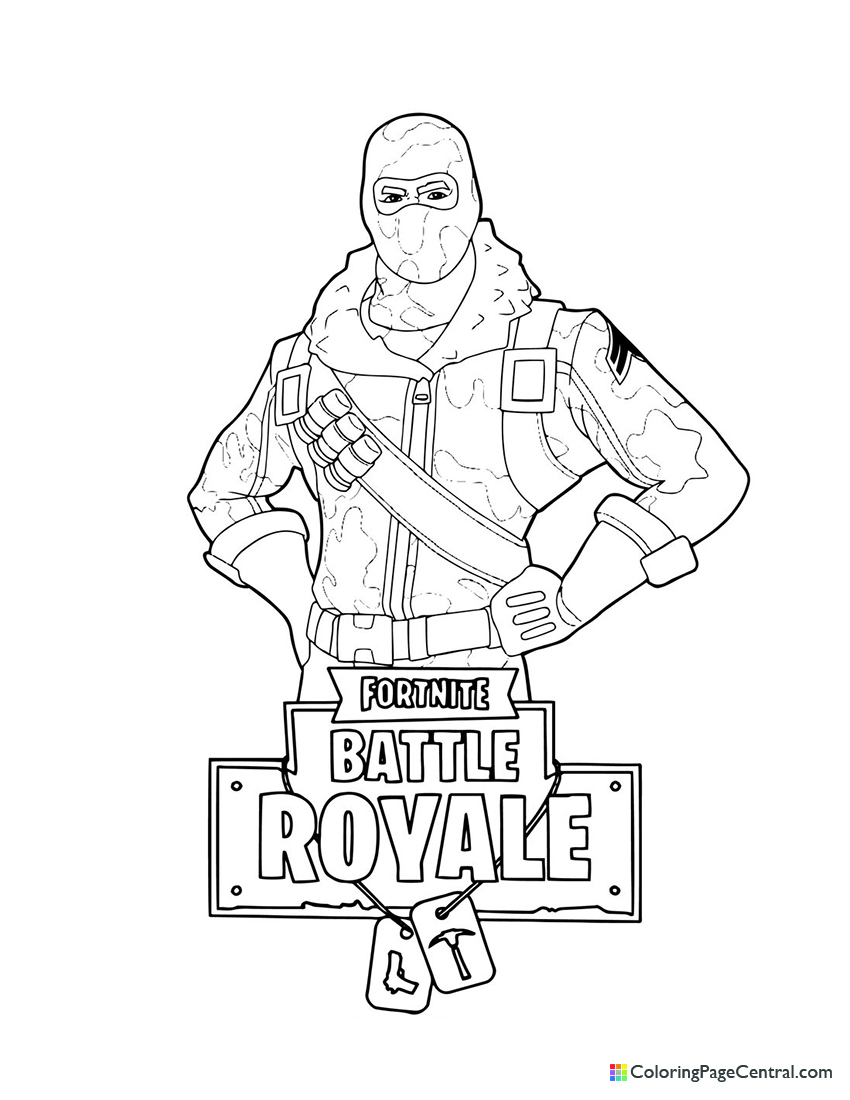 Fortnite - Raptor 01 Coloring Page | Coloring Page Central