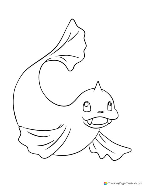 Pokemon – Dewgong Coloring Page