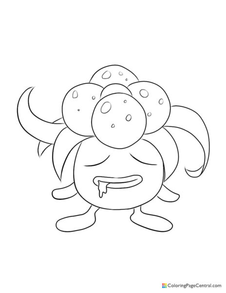 Pokemon – Gloom Coloring Page