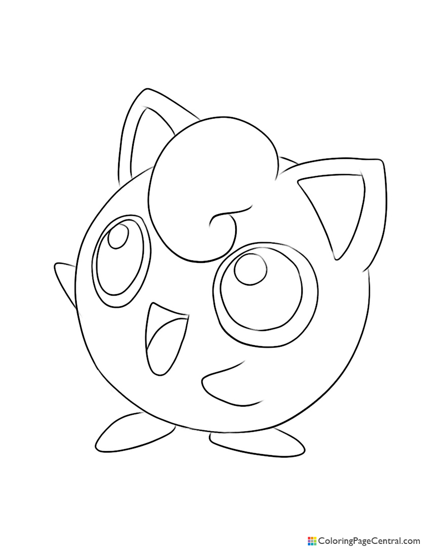 pokemon jigglypuff 02 coloring page coloring page central coloring page central