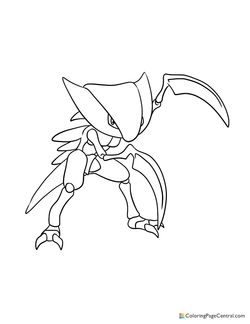 Pokemon - Kabutops Coloring Page