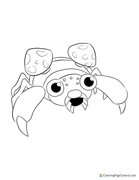 Pokemon - Paras Coloring Page